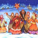 Фольклорный праздник «СВЯТКИ»